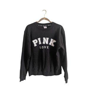 Victoria's Secret Pink Crew Neck Sweatshirt S